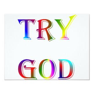 INSPIRATIONAL RELIGION FAITH CARD