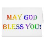 INSPIRATIONAL RELIGIOUS FAITH GREETING CARD