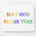 INSPIRATIONAL RELIGIOUS FAITH MOUSE PAD