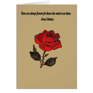 Inspirational Reminder of the Beauty around us Greeting Card