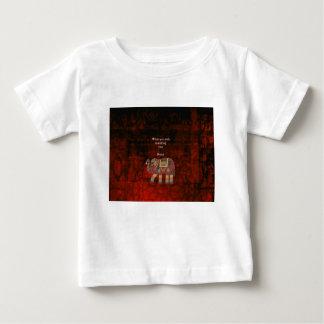 Inspirational Rumi What You Seek Quote Baby T-Shirt