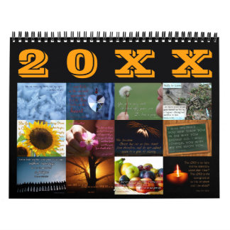 Inspirational Scripture Art Bible Verse Calendar