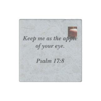 Inspirational Scripture Stone Magnet