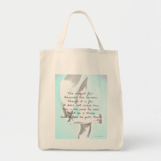 Inspirational Seagull Tote Bag