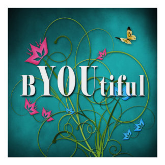 INSPIRATIONAL (semi-Gloss 24x 24 poster) Beautiful Poster