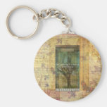 Inspirational Shakespeare quote about THE FUTURE Basic Round Button Keychain