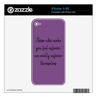 Inspirational Skins For The iPhone 4