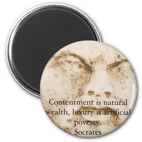 Inspirational Socrates Quote Magnet