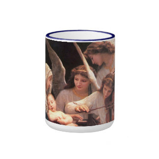 Inspirational Song of the Angels Ringer Coffee Mug