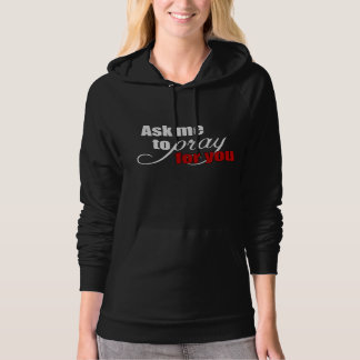 Inspirational Spiritual Christian Prayer Warrior Hoodie