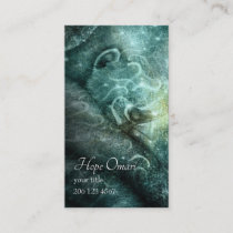 Inspirational Spiritual Meditation Yoga Art Business Card