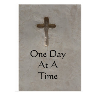 inspirational Spiritual Quote - One Day at a Time Postcards