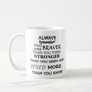 2598375d3f3 Inspirational Strong Quote Coffee Mug