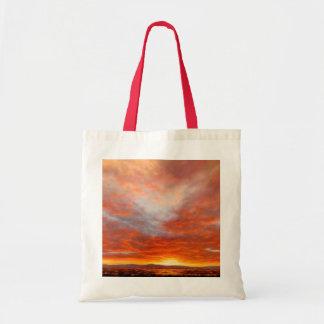 Inspirational Sunrise Canvas Tote Bag