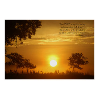 Inspirational Sunrise Picture Poster