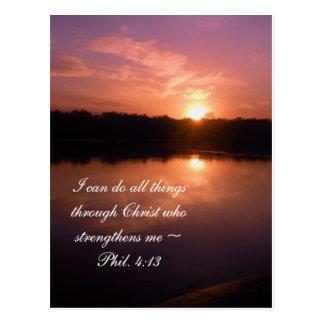Inspirational Sunrise Postcard