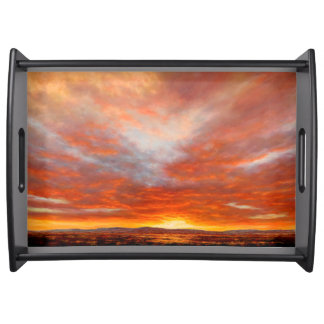 Inspirational Sunrise Serving Tray