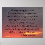Inspirational Sunset Print