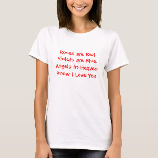 Inspirational T-Shirt expressing Love&Happiness