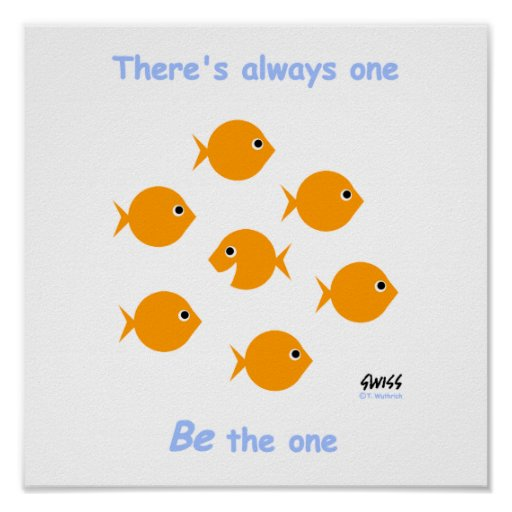 Inspirational Teachers Cute Classroom Poster