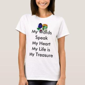 Inspirational Tee-Shirt embracing life T-Shirt