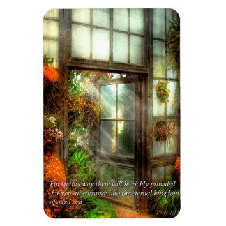 Inspirational - The door to paradise - Peter 1-11 Flexible Magnet