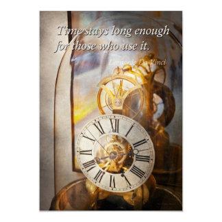 Inspirational - Time - A look back in time Card