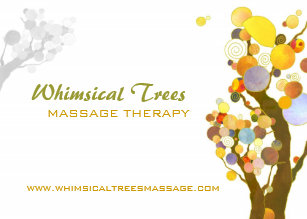 Massage therapy business cards zazzle inspirational trees massage therapy business cards colourmoves