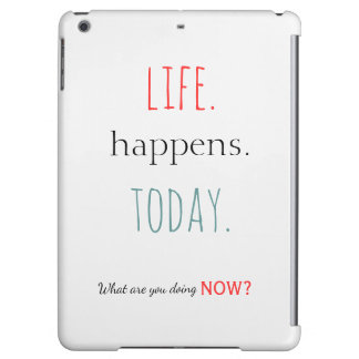 Inspirational typography words to the wise cover for iPad air