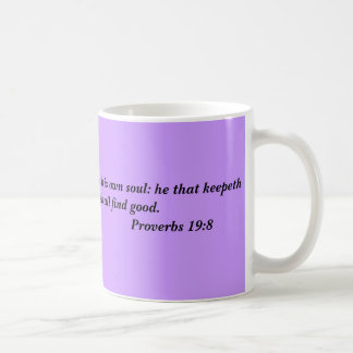 Inspirational Verses on Education and Learning Classic White Coffee Mug