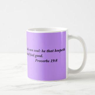 Inspirational Verses on Education and Learning Coffee Mug