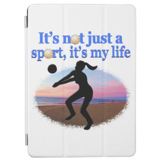 INSPIRATIONAL VOLLEYBALL IS MY LIFE DESIGN iPad AIR COVER
