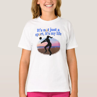 INSPIRATIONAL VOLLEYBALL IS MY LIFE DESIGN T-Shirt