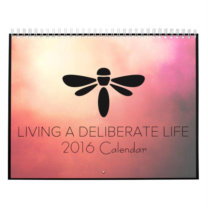 Calendar Inspirational 2016 : Inspirational wall calendar zazzle