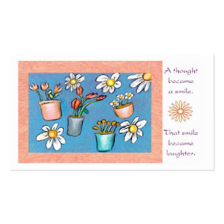 Inspirational Wallet Size Card Business Card