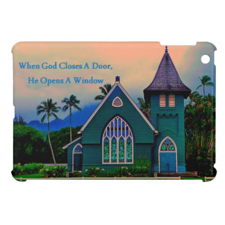 Inspirational When God Closes A Door Cover For The iPad Mini