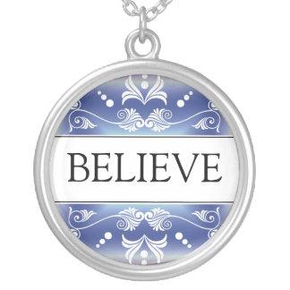 Inspirational Word - BELIEVE Pendant