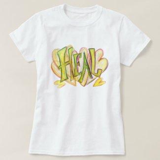 Inspirational Word Heal Art Shirt