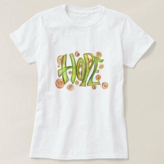 Inspirational Word Hope Art Shirt