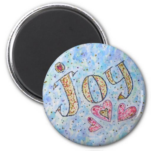 "Inspirational Word ""Joy"" Magnet"