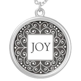 Inspirational Word - JOY Pendant