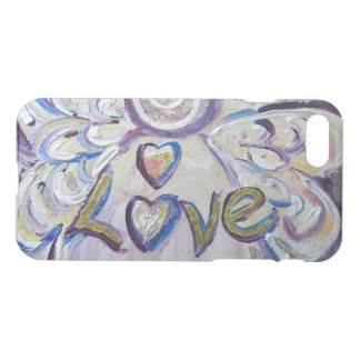 Inspirational Word Love Angel Art iPhone 7 Case