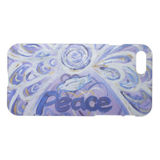 Inspirational Word Peace Angel Art iPhone 7 Case