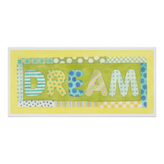 Inspirational Words by Megan Meagher | Dream Poster
