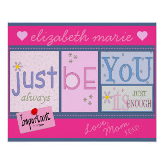 Inspirational Words- For A Daughter Poster