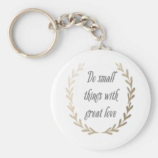Inspirational Words Keychain