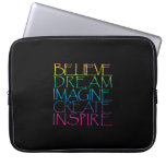 Inspirational Words Laptop Computer Sleeves
