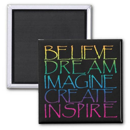 Inspirational Words Refrigerator Magnets