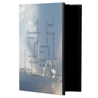 Inspirational Words to Live by for Happiness iPad Air Case