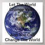 Inspirational World Poster